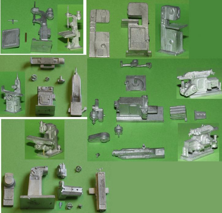 Werkzeugmaschinen Set (5 Maschinen)
