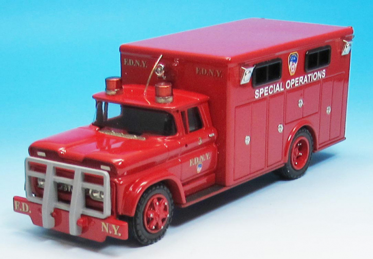 1992 GMC Truck No.3   Special Operations F.D.N.Y.