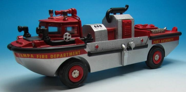1986 Amphibious Fire Apparatus, Tampa Florida