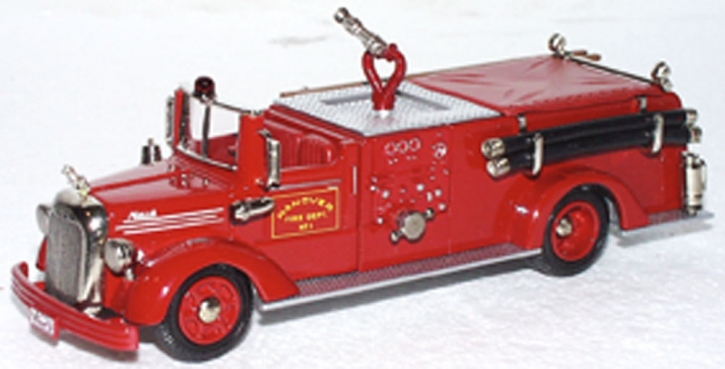 Mack Pumper Hanover G.P.M. 750 1952