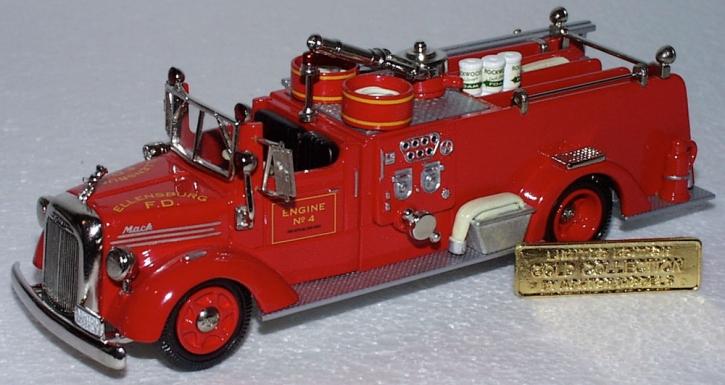 """1949 Mack 95 1000 GAL.Pumper """"Ellensburg"""" GOLD COL."""""""