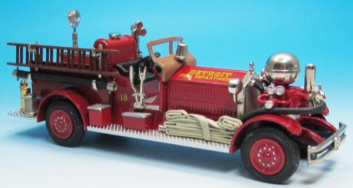 1927 Ahrens-Fox J-S-2 Pumper Model No.1264 Eng. 18 Detroit, MI