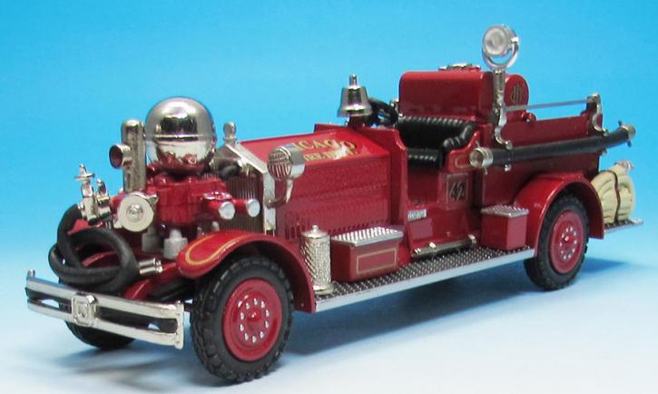1928 Ahrens-Fox NS-2 Pumper  Reg. 3340  Eng. 42 Chicago, IL