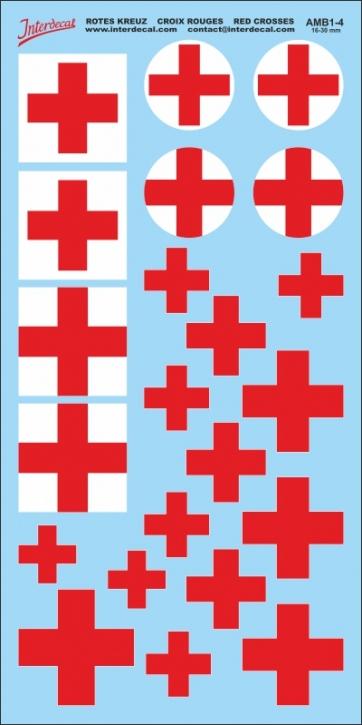 Rotes Kreuz Decals 4 (16-32mm)