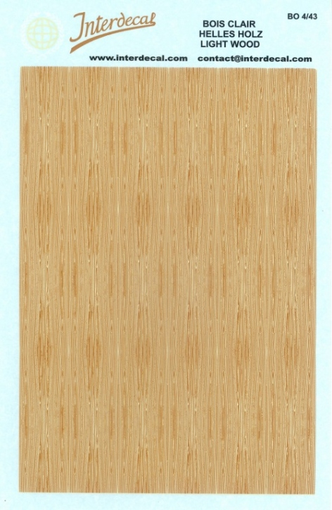 Light Wood (90 x 140 mm)