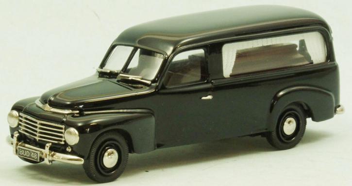 Volvo PV 445 (1950) Bestattungswagen mit Sarg ( limitierte Auflage 500 Stück)