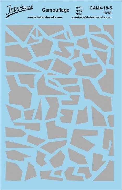 Camouflage 4-5 1/18 (140x90 mm) grau