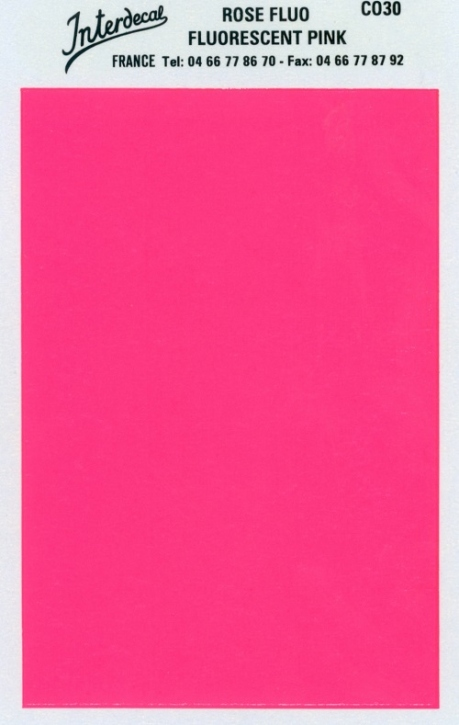 solid color plates (95 x140 mm)  pink fluorescent