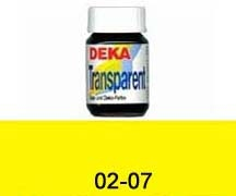 DEKA-Transparent 25 ml, Glasmalfarbe