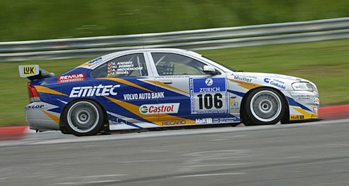 Volvo S60 Slotcar ( Volvo + 24h Rennen (2004) ! ohne Chassis ohne Fahrer !