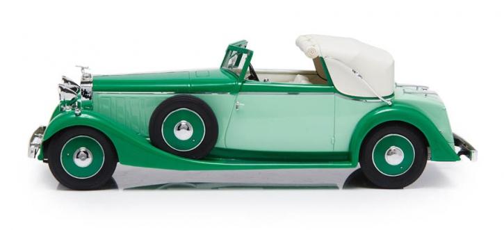 1934 Hispano Suiza J12 Drophead-Coupé  Fernandez Darrin, roof half open