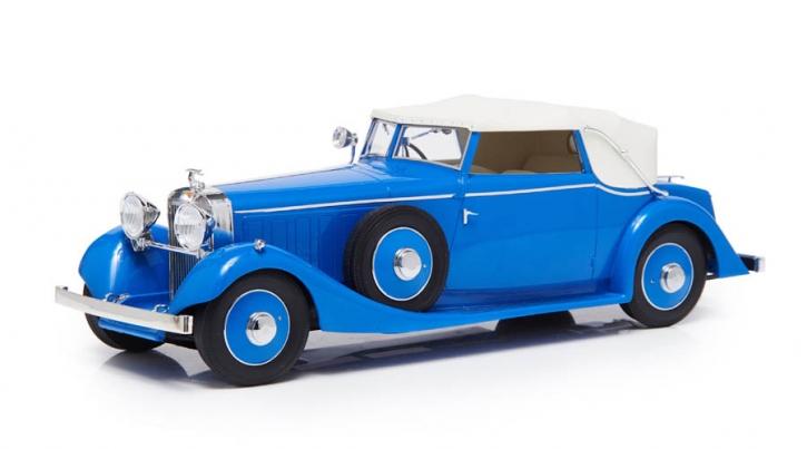 1934 Hispano Suiza J12 Drophead-Coupé von Fernandez Darrin, Dach geschlossen