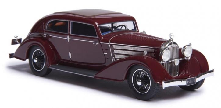 1932 Austro-Daimler ADR8 Alpine sedan maroon  EMEU43003A