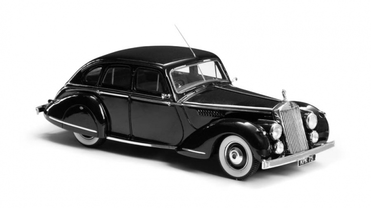 1948 Invicta Black Prince Saloon by Charlesworth   headlights built into fenders and bumpers  EMEU43008A