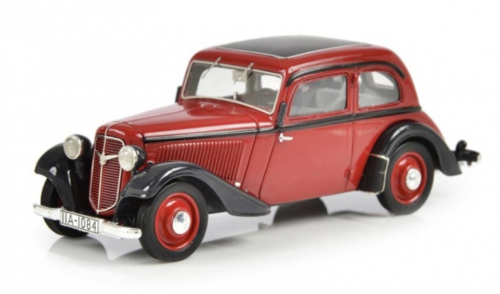 1934-41 Adler Trumpf Junior 2 door sedan - red/black  EMEU43034A