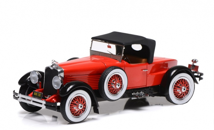 1928 Stutz Black Hawk Speedster closed top 1/43