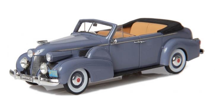 1939 Cadillac Serie 75 Cabriolet D von Fleetwood, Verdeck offen
