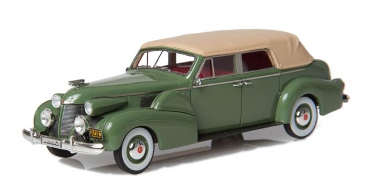 1939 Cadillac Serie 75 Cabriolet D von Fleetwood, Verdeck geschlossen