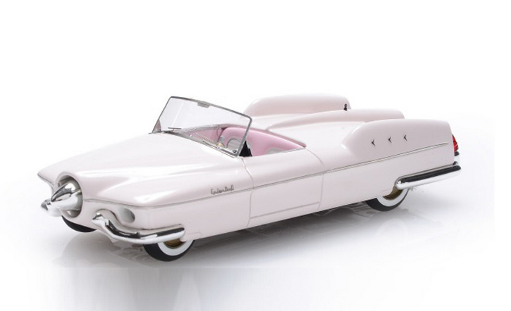 1953 Studebaker Manta Ray top down 1/43