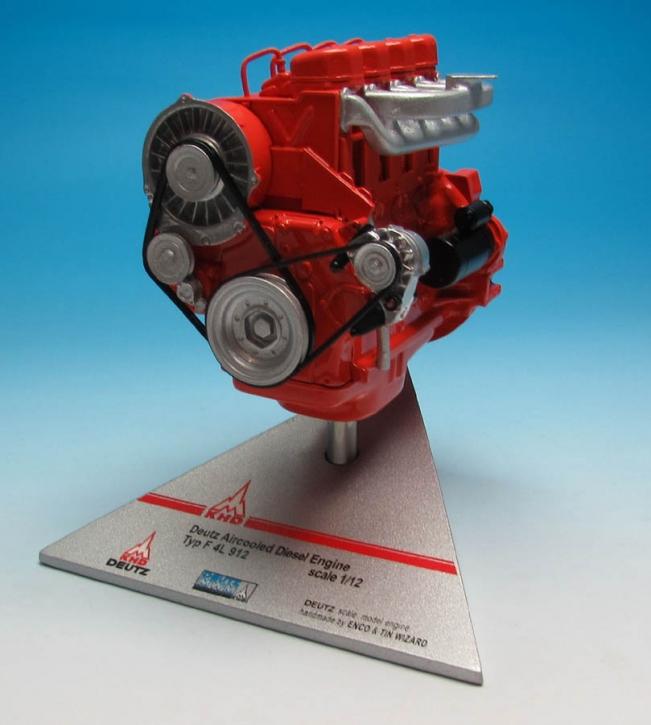 Deutz Aircooled Engine  F 4L 912  scale 1/12
