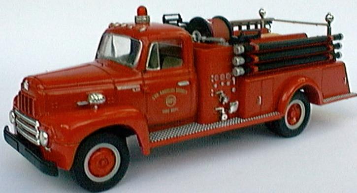 International R-190 Fire Truck Los Angeles