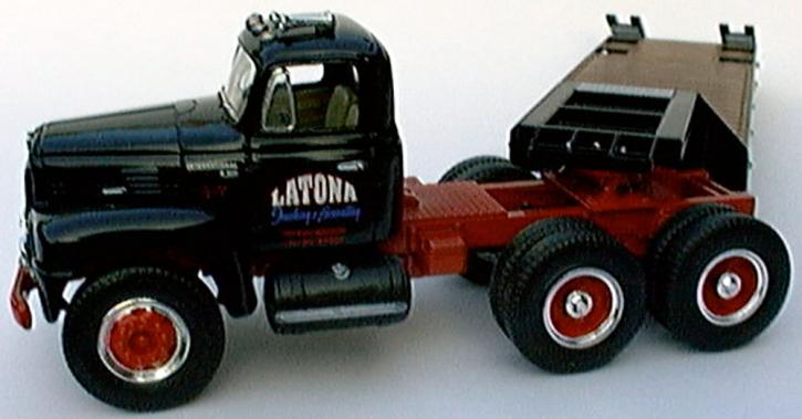 International RF200 Truck/Lowboy Trailer Latone Trucking