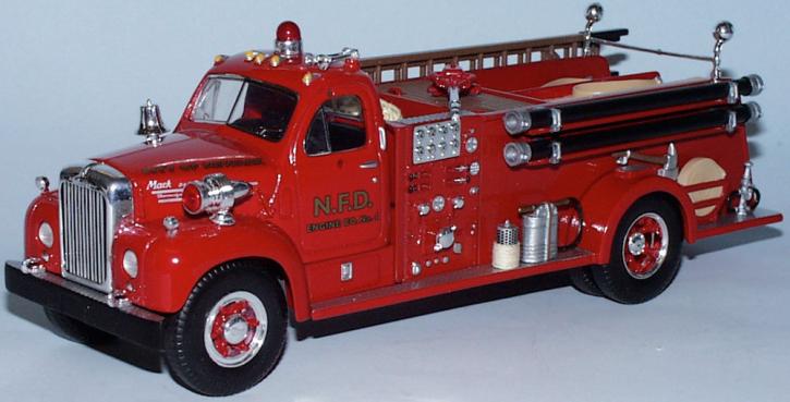 Mack B-61 Fire Truck Newark