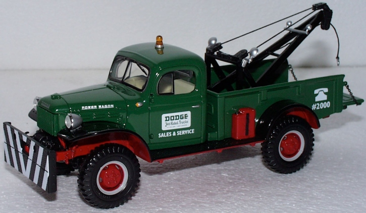 "Dodge Power Wagon Tow Truck ""Dodge"""