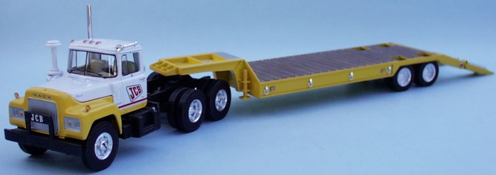 "Mack R-600 Truck/Lowboy Trailer ""JCB"""