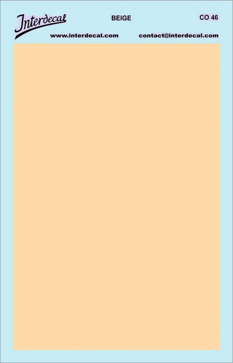 solid color plates (95 x140 mm) beige