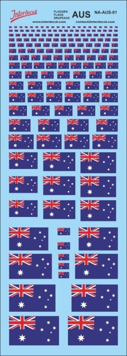 Flaggen Australien Decal (190x70 mm)