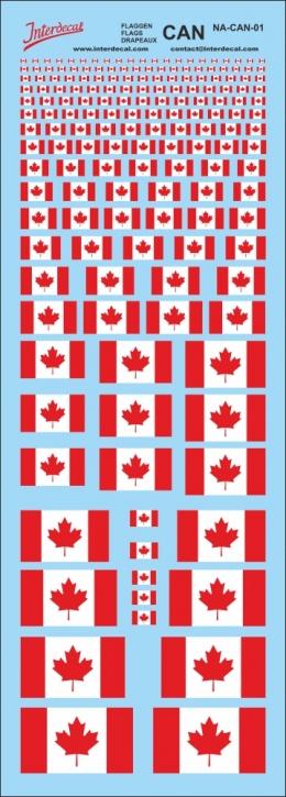 Flaggen Kanada Decal (190x70 mm)