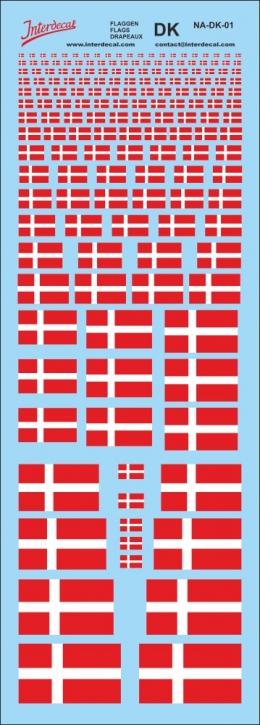 Flaggen Dänemark Decal (190x70 mm)