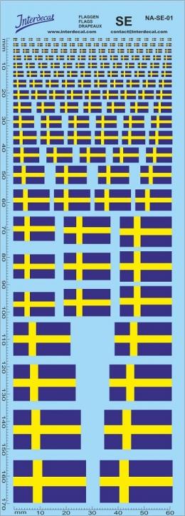 Flaggen Schweden Decal (180x70 mm)