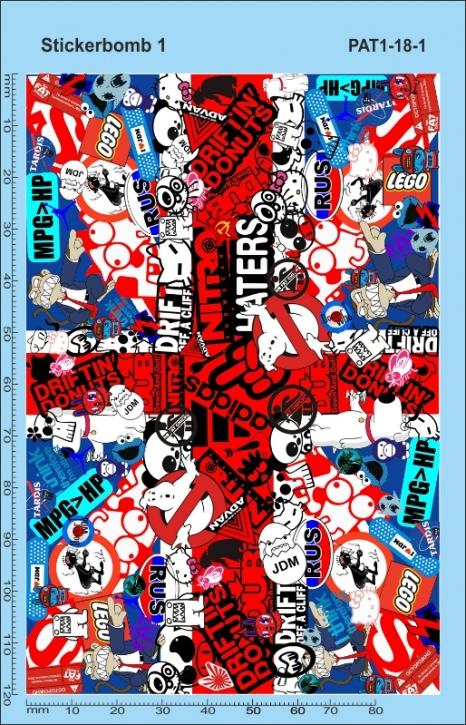 Stickerbomb Union Jack Decal (140 x 90 mm)