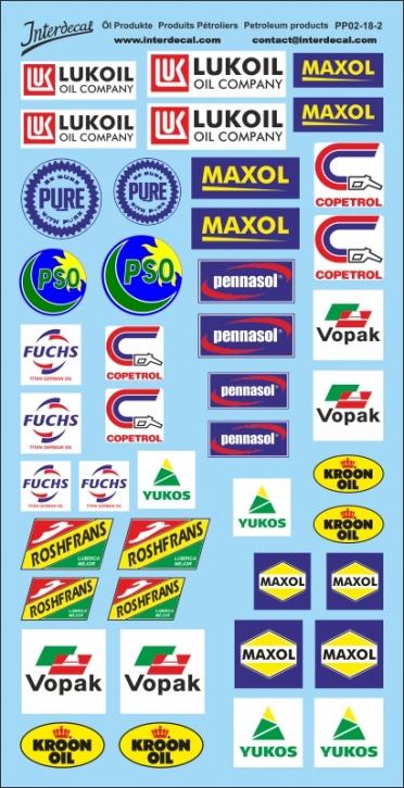 Öl Produkte 2-2 1/18 (195x100 mm)