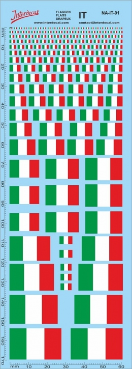 Flags Italy Decal (180x70 mm)