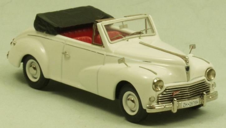 """Peugeot 203 """"Worblaufen"""" Cabriolet open top"""