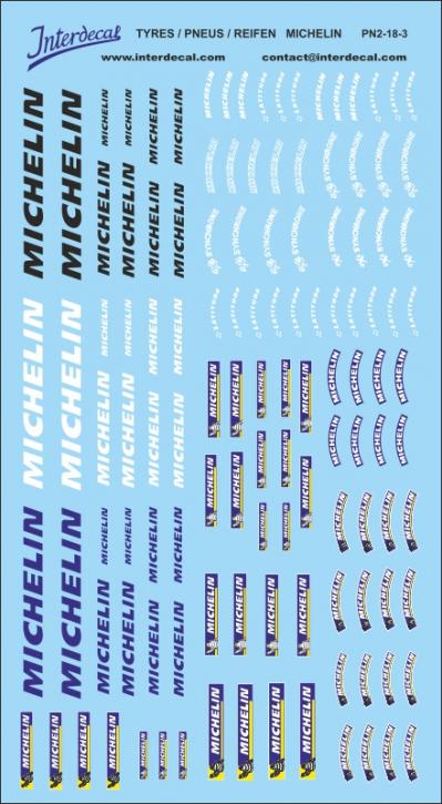 Reifen Michelin 02-3 1/18 (200x110 mm)