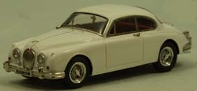 Jaguar MK2 Coupe lightblue met