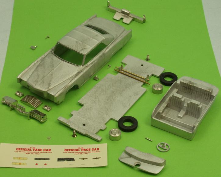 1973 Cadillac Eldorado Cabriolet geschlossenes Verdeck (Indianapolis Pace Car)