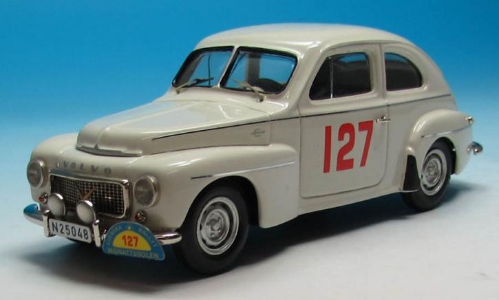 Volvo PV 444L Spezial   Svenska Rallyt till Midnattssolen (1958) Andersson (No. 127)