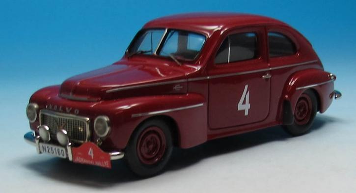 Volvo PV 444L Spezial   Rallye (Jardanski) Adriatique (1958) Andersson (No. 4)