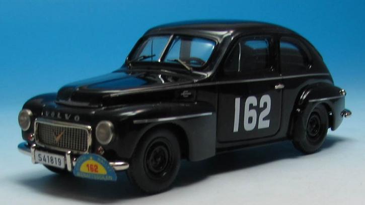 Volvo PV 444L Spezial  Svenska Rallyt till Midnattssolen (1957)  Jansson (No. 162)