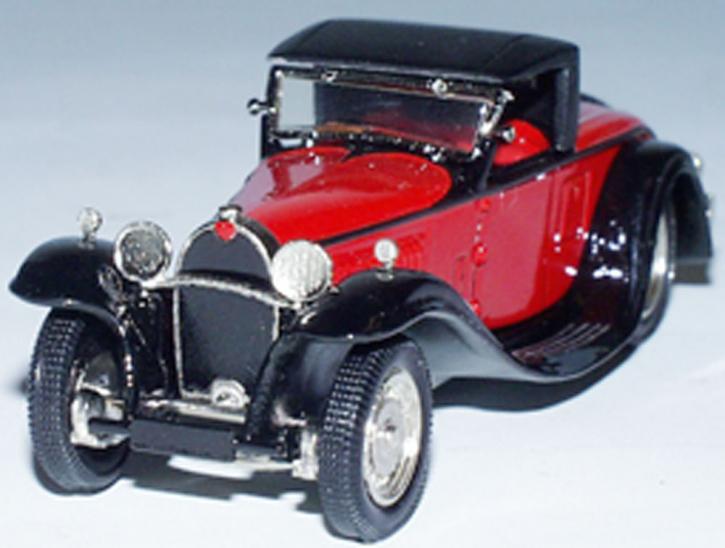 """Bugatti Typ 49 Cabriolet """"Gangloff"""" (geschlossen)"""