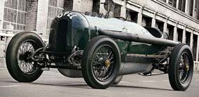 Opel Rennwagen 12,3 L Green Monster