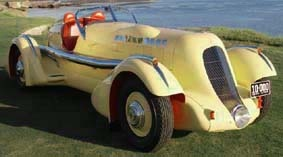 Duesenberg SJ Mormon Meteor Speedster, winner Pebble Beach Concours d´Elegance 2007