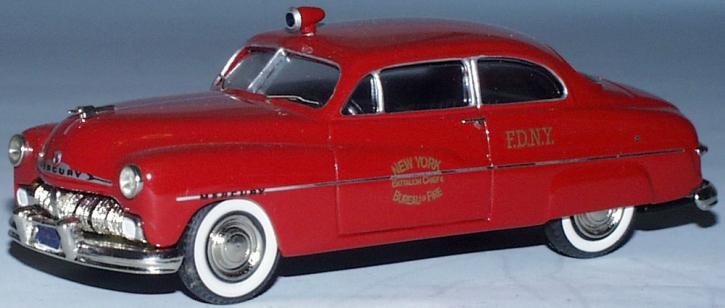 """Ford Mercury """"N.Y.Firechief"""""""