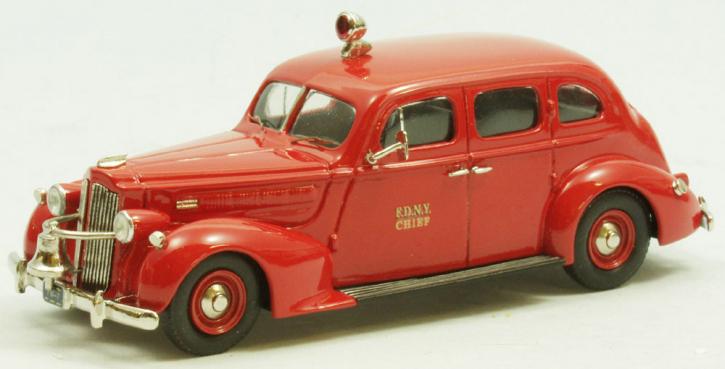 Packard 4-Door Sedan   N.Y. Fire Dept (Chief) 1937