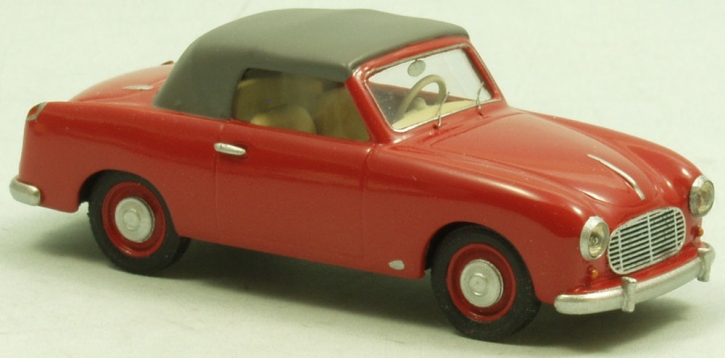 "NSU-Fiat  Neckar ""Wendler"" convertible closed top 1954"